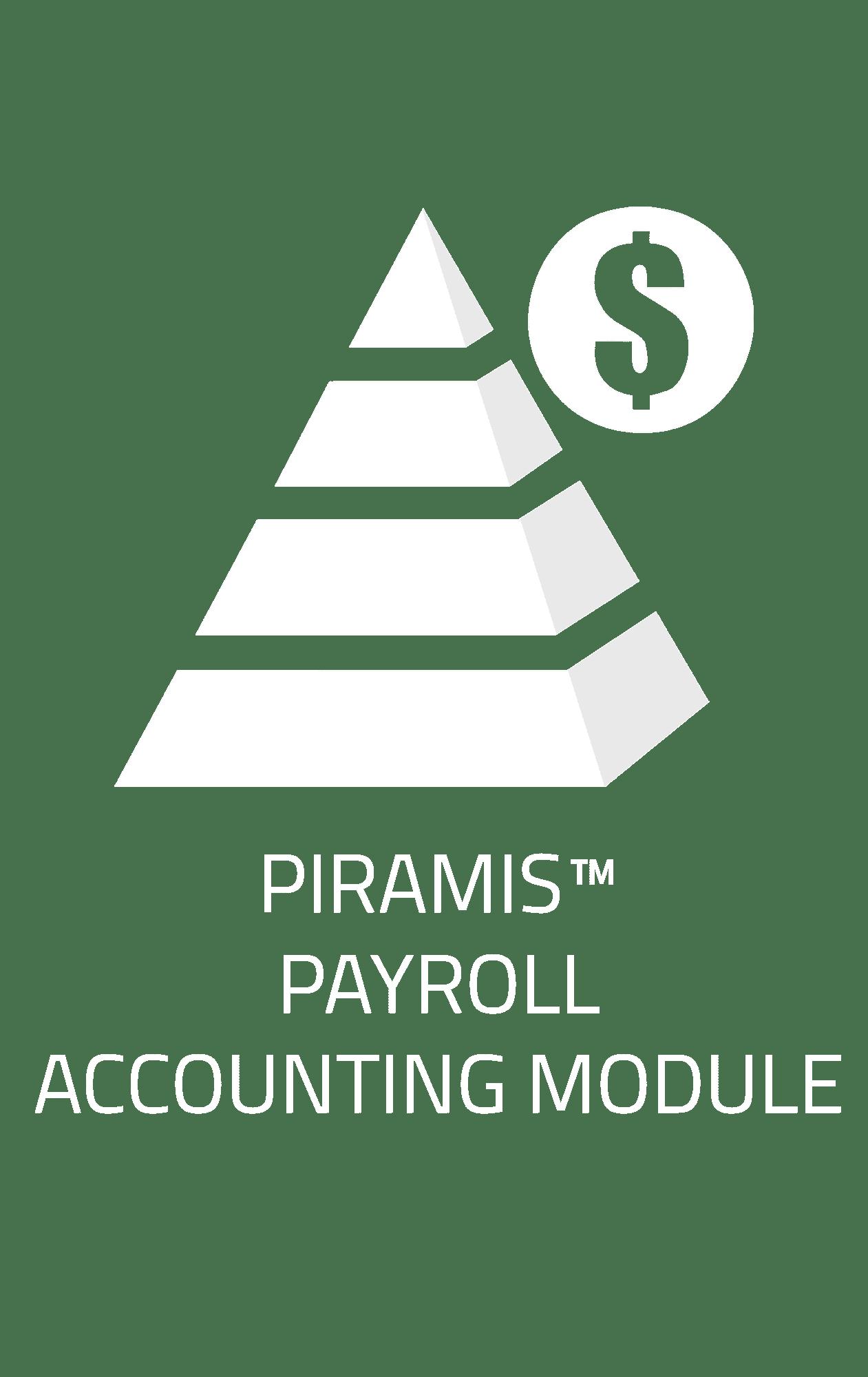 PIRAMIS™ Payroll Account Module