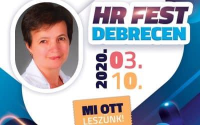 Kardos Zoltánné is ott lesz a HR Festen!