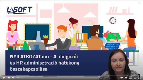 NYILATKOZATaim – a dolgozói és a HR adminisztráció hatékony összekapcsolása