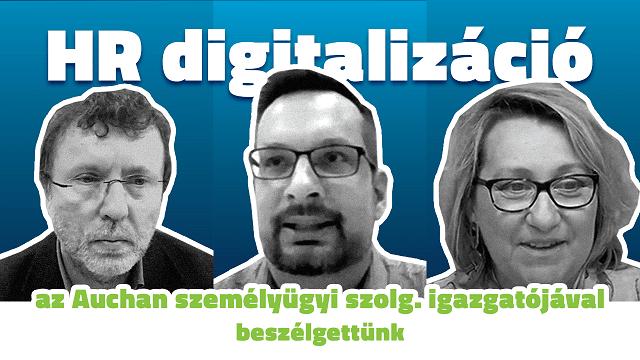 HR digitalizáció a kereskedelmi szektorban